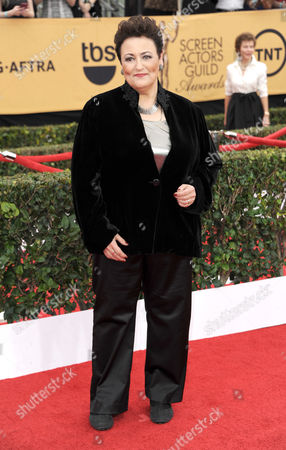 Barbara Rosenblat arrives at the 21st annual Screen Actors Guild Awards at the Shrine Auditorium, in Los Angeles