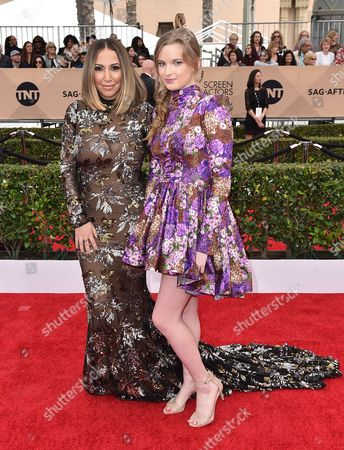 Editorial picture of 22nd Annual SAG Awards - Arrivals, Los Angeles, USA