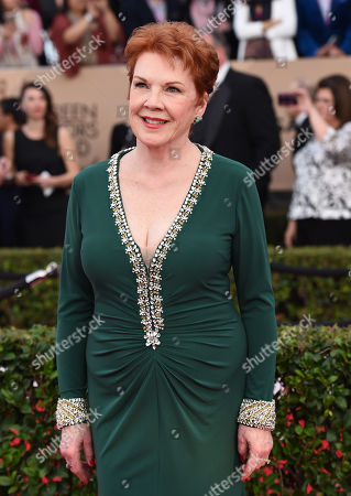 Beth Fowler arrives at the 22nd annual Screen Actors Guild Awards at the Shrine Auditorium & Expo Hall, in Los Angeles