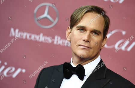 Phillip P. Keene arrives at the 26th annual Palm Springs International Film Festival Awards Gala, in Palm Springs, Calif