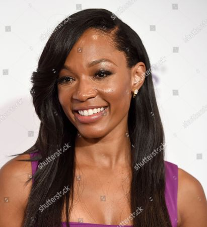 Cari Champion arrives at the 41st annual Gracie Awards Gala at the Beverly Wilshire Hotel, in Beverly Hills, Calif