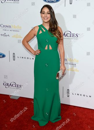 Monica Ten-Kate arrives at the 41st annual Gracie Awards Gala at the Beverly Wilshire Hotel, in Beverly Hills, Calif