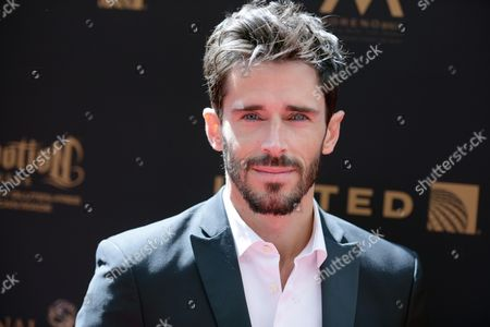 Brandon Beemer arrives at the 43rd annual Daytime Emmy Awards at the Westin Bonaventure Hotel, in Los Angeles