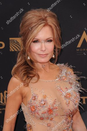 Tracey E. Bregman arrives at the 43rd annual Daytime Emmy Awards at the Westin Bonaventure Hotel, in Los Angeles