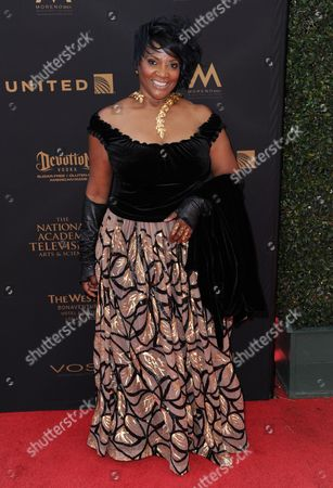 Anna Maria Horsford arrives at the 43rd annual Daytime Emmy Awards at the Westin Bonaventure Hotel, in Los Angeles