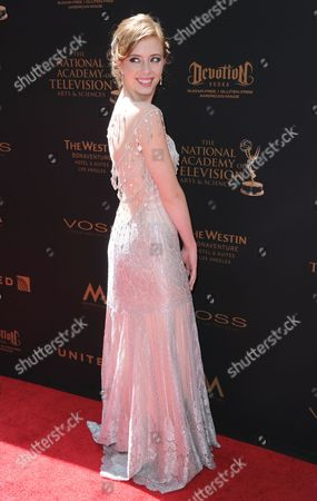 Stock Picture of Ashlyn Pearce arrives at the 43rd annual Daytime Emmy Awards at the Westin Bonaventure Hotel, in Los Angeles