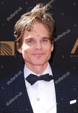 Greg Rikaart arrives at the 43rd annual Daytime Emmy Awards at the Westin Bonaventure Hotel, in Los Angeles