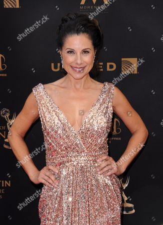 Marie Wilson arrives at the 43rd annual Daytime Emmy Awards at the Westin Bonaventure Hotel, in Los Angeles