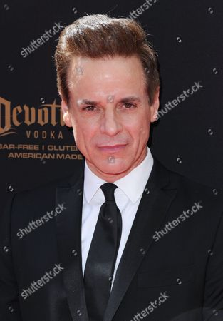 Christian LeBlanc arrives at the 43rd annual Daytime Emmy Awards at the Westin Bonaventure Hotel, in Los Angeles