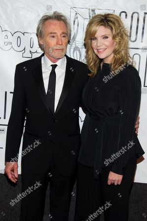 Stock Photo of Inductee JD Souther and Alison Krauss attend the Songwriters Hall of Fame 44th annual induction and awards gala on in New York