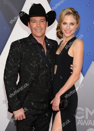 Editorial photo of 49th Annual CMA Awards - Arrivals, Nashville, USA