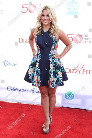 Chelsie Hightower attends the 4th Annual Celebration of Dance Gala at the Dorothy Chandler Pavilion on in Los Angeles, Calif
