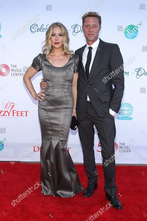 Christina Applegate and husband Martyn LeNoble attend the 4th Annual Celebration of Dance Gala at the Dorothy Chandler Pavilion on in Los Angeles, Calif