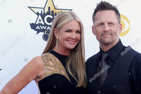 Editorial picture of 50th Annual Academy Of Country Music Awards - Arrivals, Arlington, USA