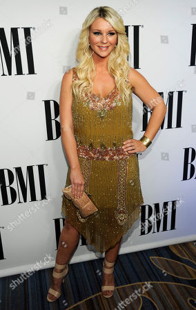 Jaida Dreyer arrives at the 62nd Annual BMI Pop Awards at the Beverly Wilshire Hotel, in Beverly Hills, Calif