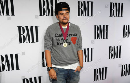 Alex Da Kid arrives at the 62nd Annual BMI Pop Awards at the Beverly Wilshire Hotel, in Beverly Hills, Calif