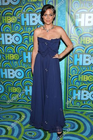 Actress Christine Woods arrives at the HBO Primetime Emmy's After Party at The Plaza at the Pacific Design Center on in Los Angeles