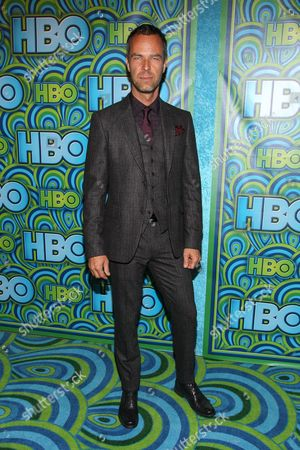 Actor J. R. Bourne arrives at the HBO Primetime Emmy's After Party at The Plaza at the Pacific Design Center on in Los Angeles