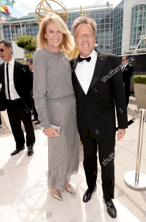 Editorial image of 66th Primetime Emmy Awards - Limo Drop-Off, Los Angeles, USA