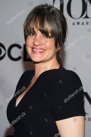 Pam MacKinnon arrives on the red carpet at the 67th Annual Tony Awards on in New York