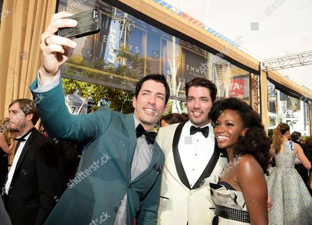 Editorial photo of 67th Primetime Emmy Awards - Red Carpet, Los Angeles, USA