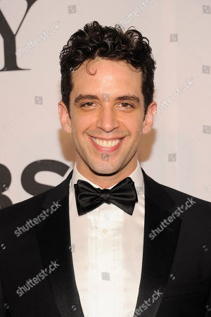 Nick Cordero arrives at the 68th annual Tony Awards at Radio City Music Hall, in New York