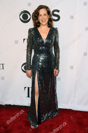 Stock Picture of Karen Ziemba arrives at the 68th annual Tony Awards at Radio City Music Hall, in New York
