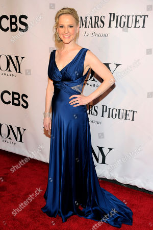 Stock Photo of Anika Larsen arrives at the 68th annual Tony Awards at Radio City Music Hall, in New York