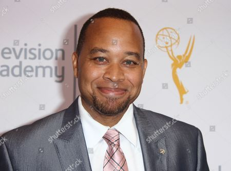 Stock Photo of Frank Brantley arrives at the L.A. Area Emmy Awards presented at the Television Academyâ?™s new Saban Media Center, in the NoHo Arts District in Los Angeles