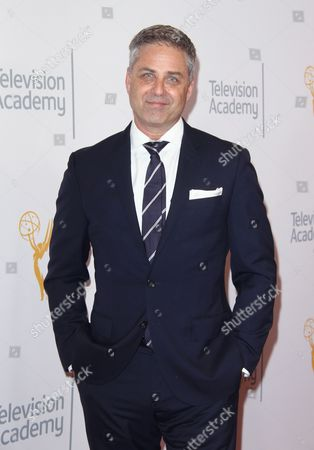 Mark L. Walberg arrives at the L.A. Area Emmy Awards presented at the Television Academy's new Saban Media Center, in the NoHo Arts District in Los Angeles