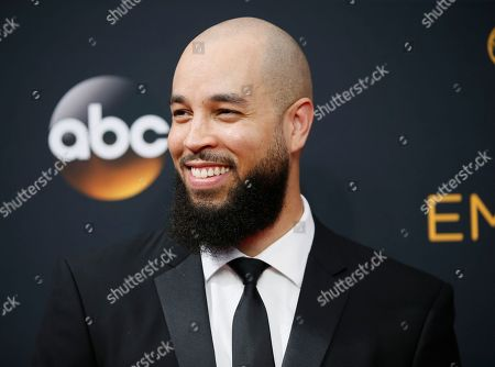 Stock Picture of Peter Saji arrives at the 68th Primetime Emmy Awards, at the Microsoft Theater in Los Angeles