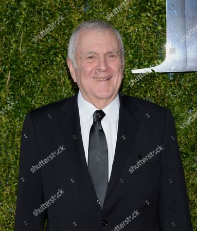 Stock Photo of John Kander arrives at the 69th annual Tony Awards at Radio City Music Hall, in New York