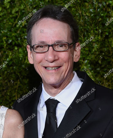 Larry Hochman arrives at the 69th annual Tony Awards at Radio City Music Hall, in New York
