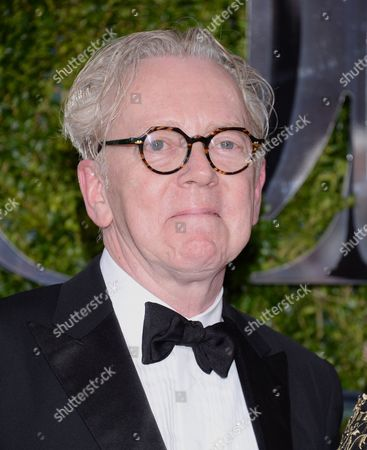 Bob Crowley arrives at the 69th annual Tony Awards at Radio City Music Hall, in New York