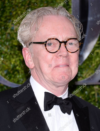 Bob Crowley arrives at the 69th annual Tony Awards at Radio City Music Hall, in New York
