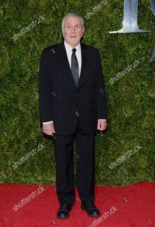 John Kander arrives at the 69th annual Tony Awards at Radio City Music Hall, in New York