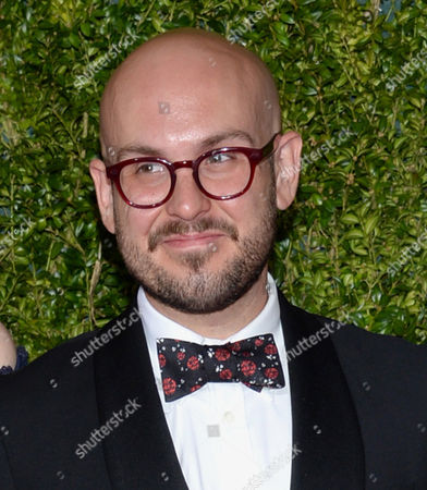 Robert Askins arrives at the 69th annual Tony Awards at Radio City Music Hall, in New York