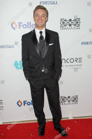 Michael Welch attends the 6th Annual Thirst Gala at The Beverly Hilton Hotel on in Beverly Hills, Calif