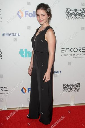 Madison McLaughlin attends the 6th Annual Thirst Gala at The Beverly Hilton Hotel on in Beverly Hills, Calif