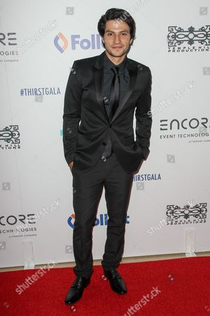 Stock Photo of George Kosturos attends the 6th Annual Thirst Gala at The Beverly Hilton Hotel on in Beverly Hills, Calif