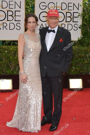Editorial picture of 71st Annual Golden Globe Awards - Arrivals, Beverly Hills, USA