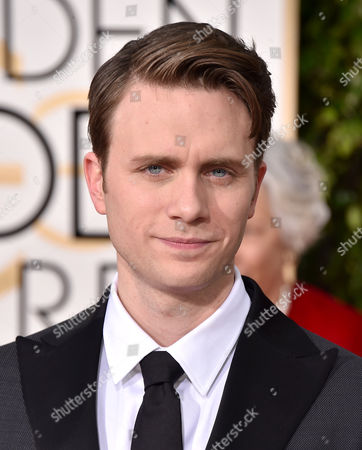 Martin Wallstrom arrives at the 73rd annual Golden Globe Awards, at the Beverly Hilton Hotel in Beverly Hills, Calif