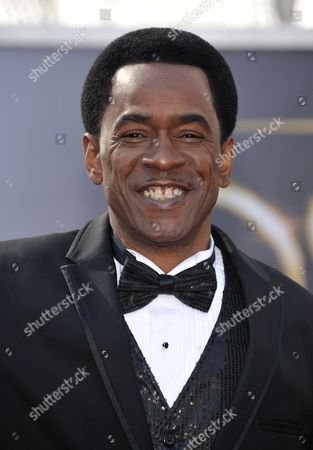 Stock Image of Actor Dwight Henry arrives at the 85th Academy Awards at the Dolby Theatre, in Los Angeles