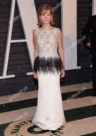 Anna Scott arrives at the 2015 Vanity Fair Oscar Party, in Beverly Hills, Calif