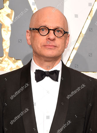 David Lang arrives at the Oscars, at the Dolby Theatre in Los Angeles