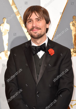Stock Image of Don Hertzfeldt arrives at the Oscars, at the Dolby Theatre in Los Angeles