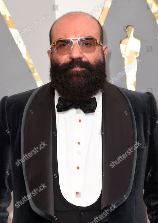 Paco Delgado arrives at the Oscars, at the Dolby Theatre in Los Angeles