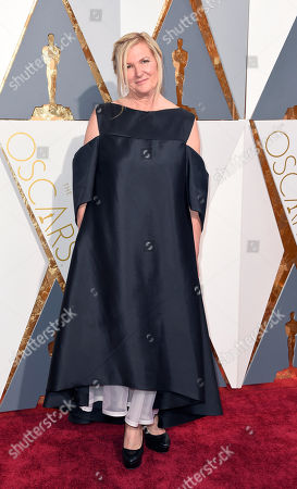 Jacqueline West arrives at the Oscars, at the Dolby Theatre in Los Angeles