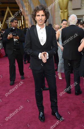 Stephan Moccio arrives at the Oscars, at the Dolby Theatre in Los Angeles
