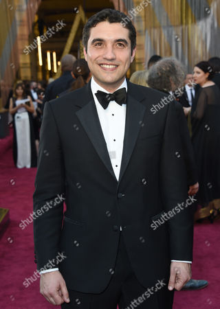 Stock Image of Naji Abu Nowar arrives at the Oscars, at the Dolby Theatre in Los Angeles